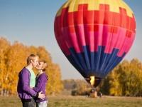 Полет на воздушном шаре - идеальное романтическое свидание